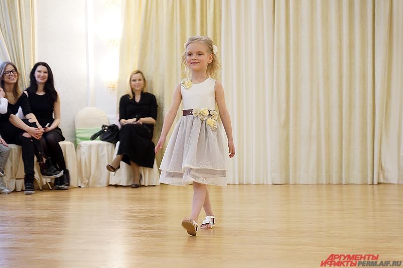 Маленькая красавица Перми стала настоящей звездой в своём детском саду.