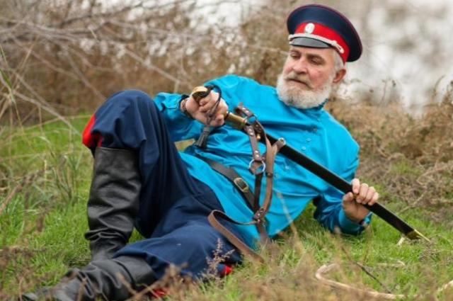 Атаман Волгодонского городского казачьего общества Владимир Бардаков.