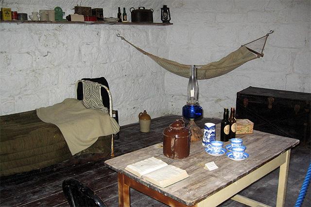 Комната Джеймса Джойса в современном музее «Башня Джеймса Джойса»