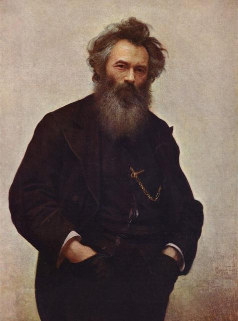 Иван Крамской кисти Николая Шишкина