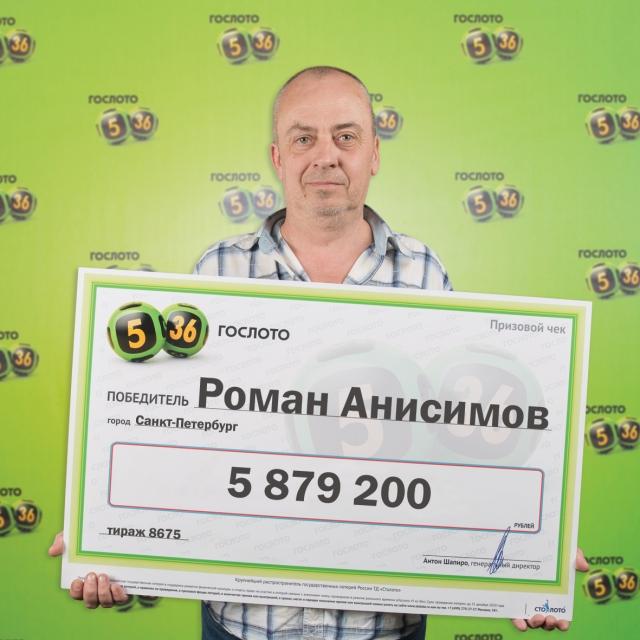 Счастливый победитель - Роман Анисимов.