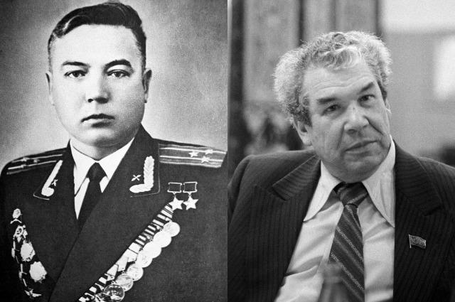 Муса Гареев и Мустай Карим.