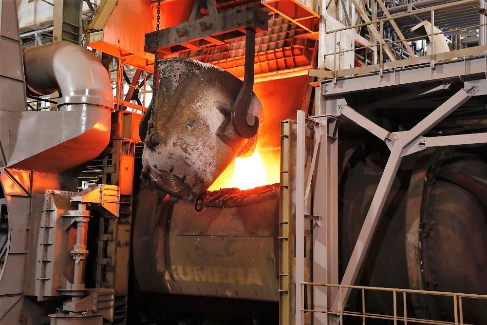 Новое конвертерное отделение металлургического цеха «Карабашмеди» начало работать в августе 2018 года с запуска первого из трёх конвертеров Kumera.