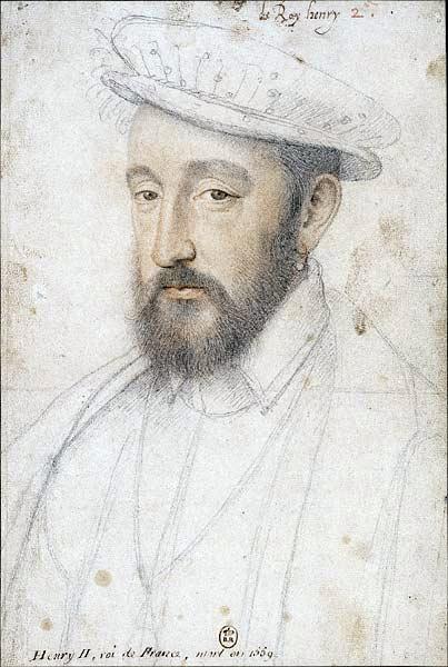Генрих II, (Франсуа Клуэ, ок. 1553 г.)