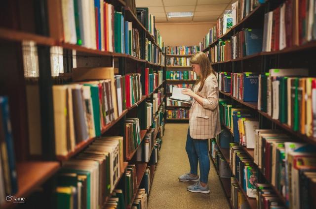 Все сокровища библиотеки можно взять домой, нужно только оставить денежный залог.