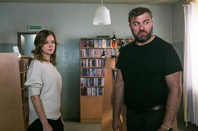 В новом сериале актриса вновь снялась вместе с Михаилом Пореченковым.