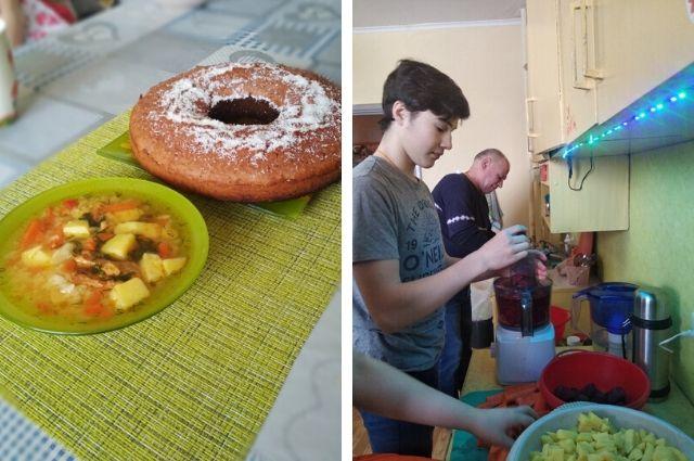 Волонтёрское движение «Дорога добра» проводит обеды каждые выходные.
