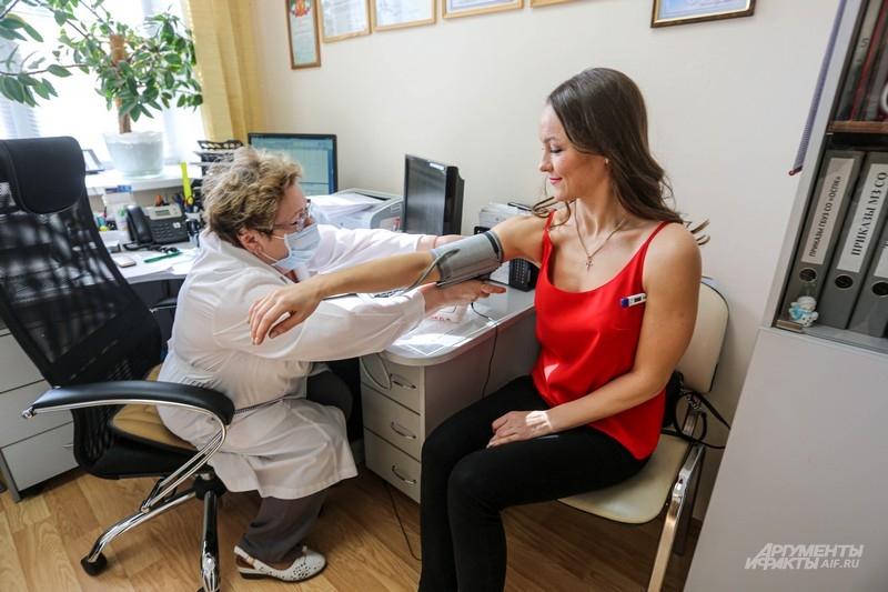 У всех доноров измеряют давление и температуру. Если есть малейшие отклонения от нормы, вас попросят прийти в следующий раз.