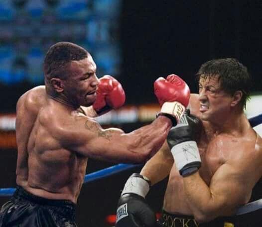 Mike Tyson in Rocky Balboa.