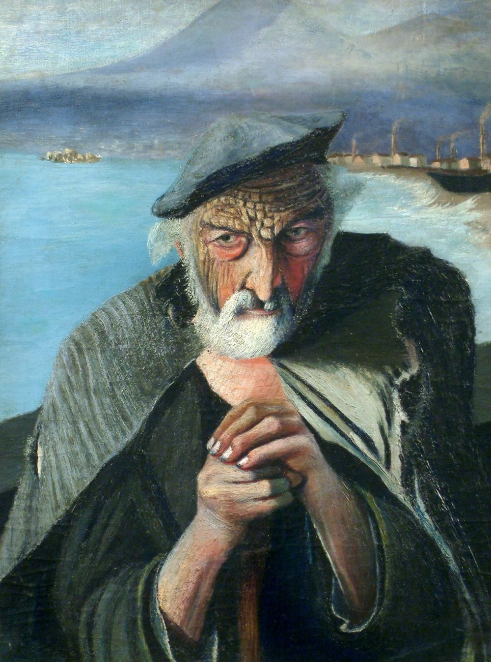 «Старый рыбак» Тивадара Чонтвари.
