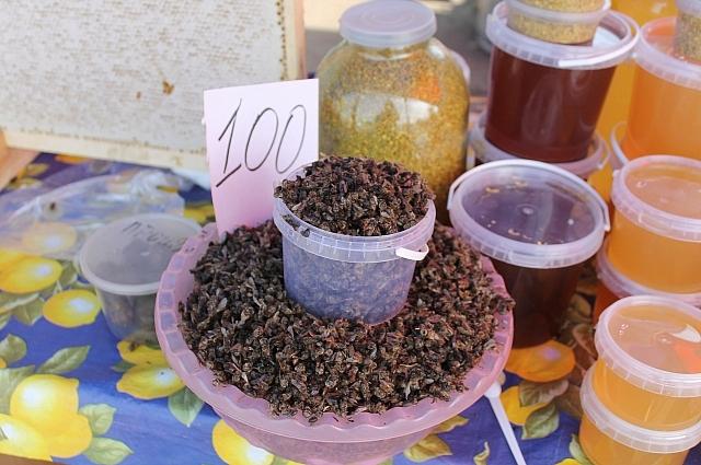 Мёд и продукты пчеловодства можно купить на рынках.