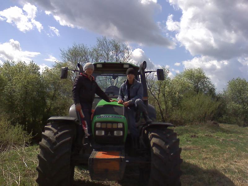 Практику студенты проходят в соседних агрофермах