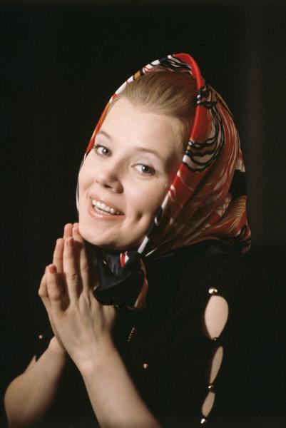 Людмила Сенчина. 1978 год.