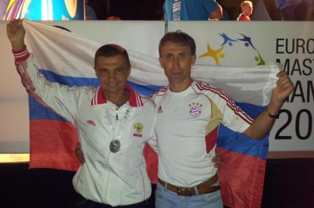 Михаил Самойлов и Сергей Студеникин.
