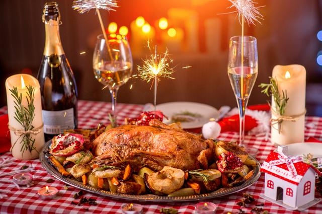 еда, новый год