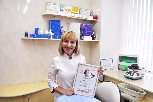Наталья Никитина, косметолог салона «Престиж».