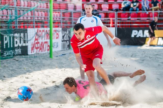 Пляжный футбол чемпионат Украины
