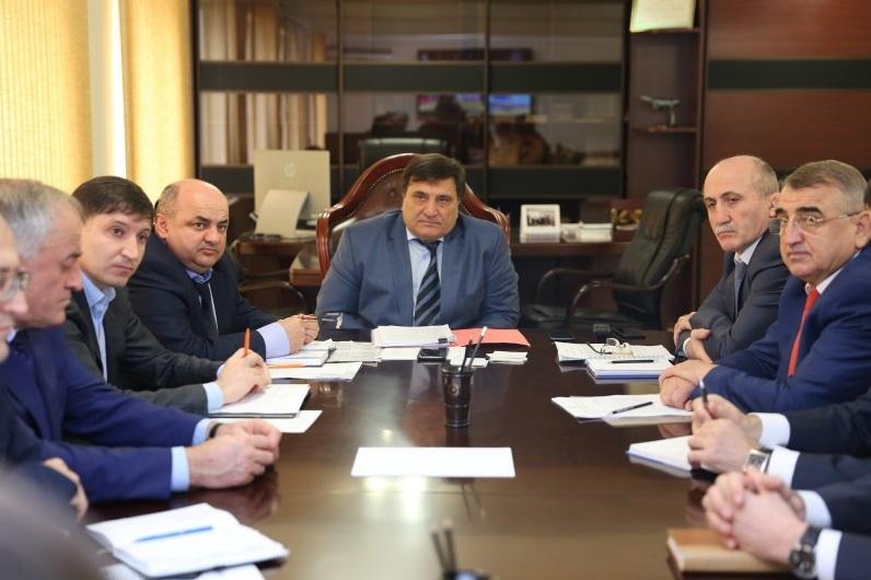 Рабочее совещание под руководством врио министра Сайгидпаши Умаханова
