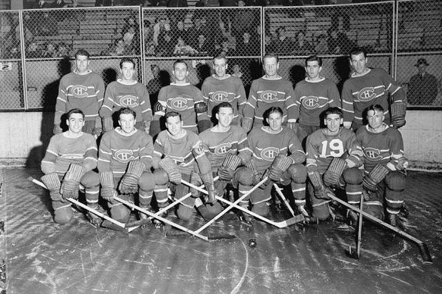«Монреаль Канадиенс» в 1942 году.
