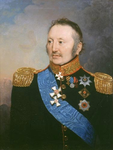 Портрет П. Х. Витгенштейна, неизвестный художник XIX века.