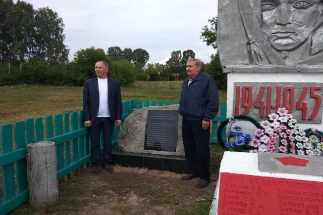 Юрий Печин (слева) и Геннадий Лупарев