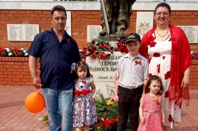 Семья Пальчуновых.