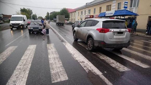ДТП в Ирбите с экс-полицейским.