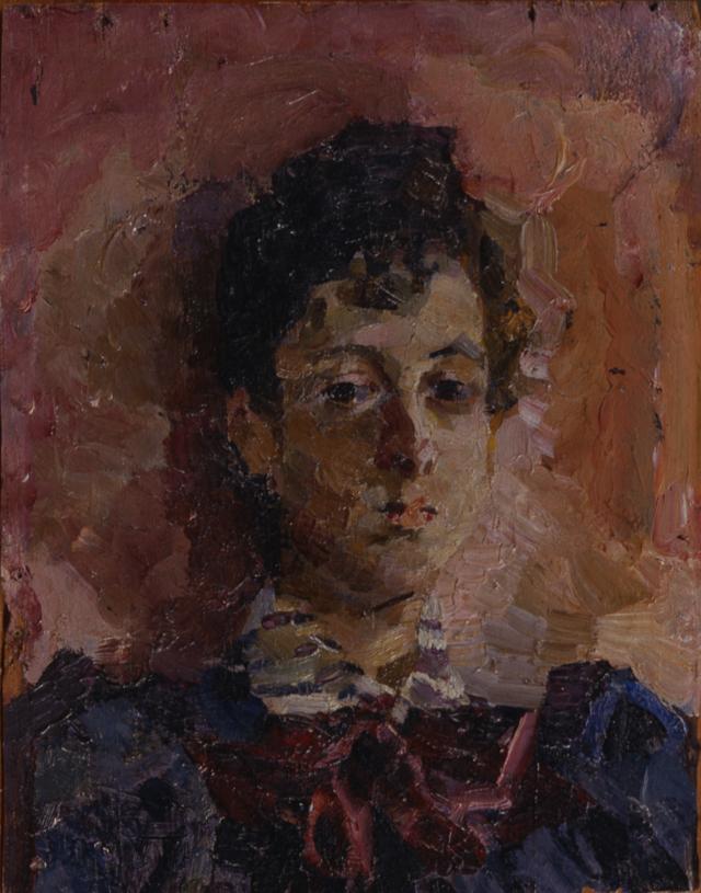 Врубель М.А. Портрет М.В. Якунчиковой 1886—1889 гг.  Вятский художественный музей имени В. М. и А. М. Васнецовых.