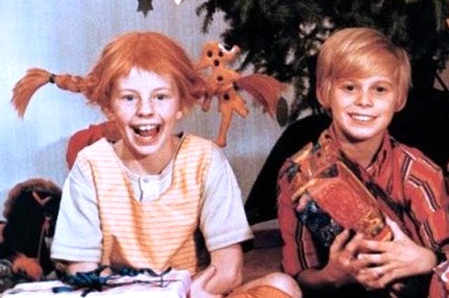Кадр из шведского фильма «Пеппи Длинныйчулок».