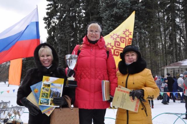 чапаевская лыжня в Москве