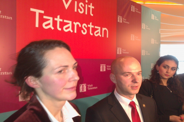 Наташа Гранд (слева), Сергей Иванов, Оксана Саргина.