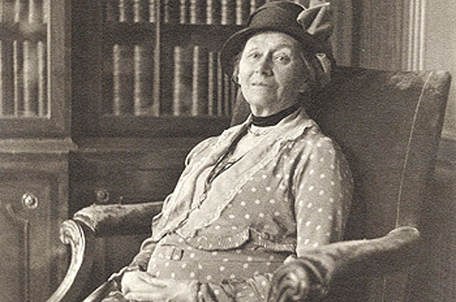 Алиса Харгривс за два года до смерти, 1932 год