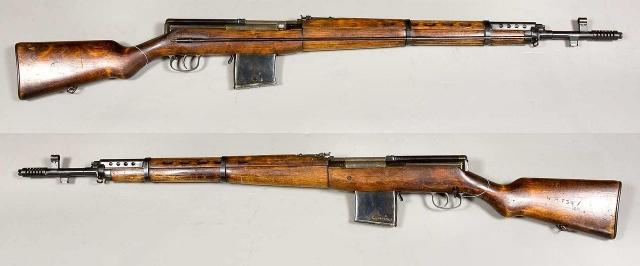 Самозарядная винтовка Токарева образца 1938 года.