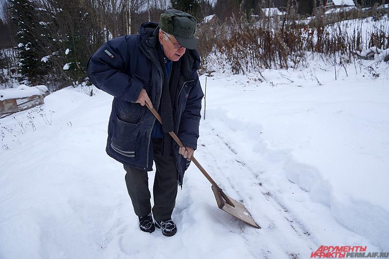 Сначала нужно подготовить площадку для зимней посадки.