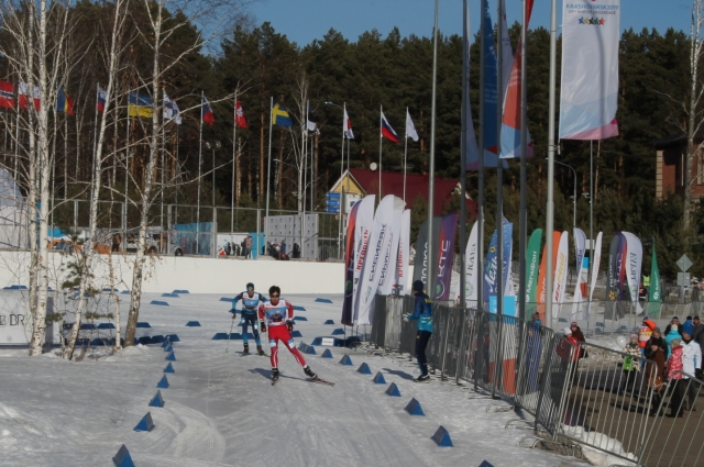 Кстати, в нашем городе чемпионат мира по лыжному ориентированию проходил второй раз в истории.