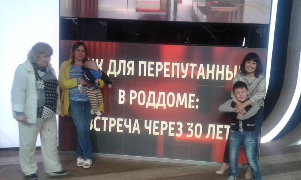 На съемки Зоя Туганова приехала с обоими своими дочерьми и внуками.