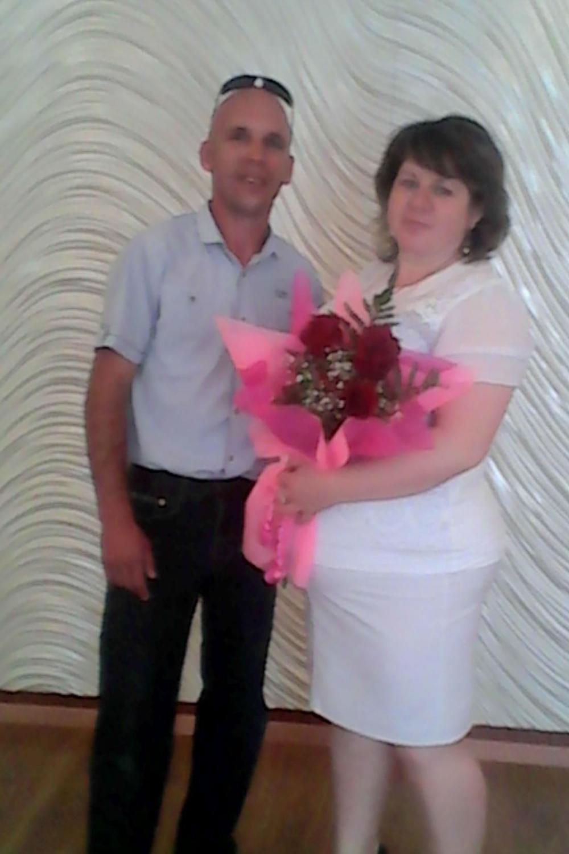 Дмитрий и Светлана поженились совсем недавно.