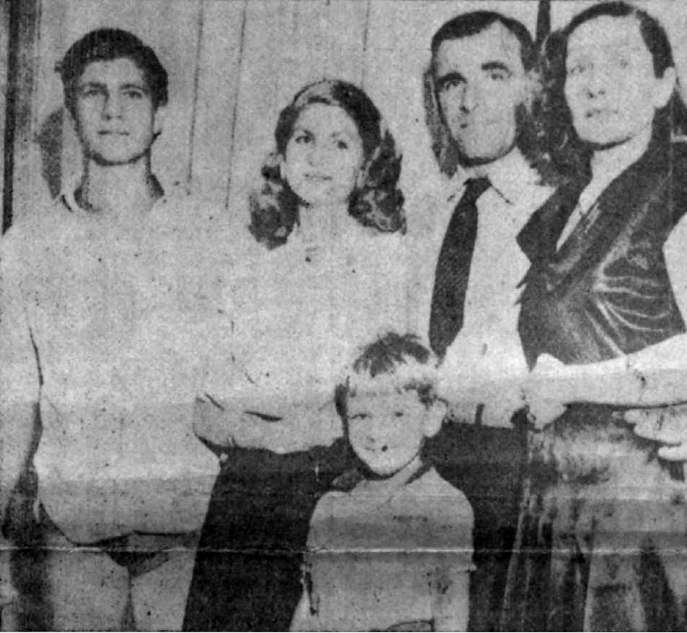 Семья Цукурса в Бразилии, 1950 г.