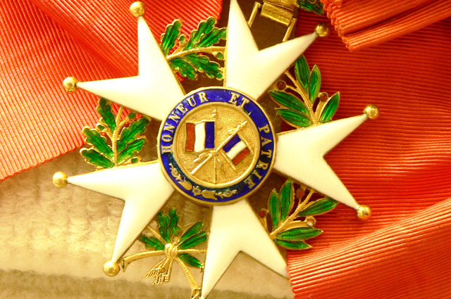 Орден Почётного легиона.