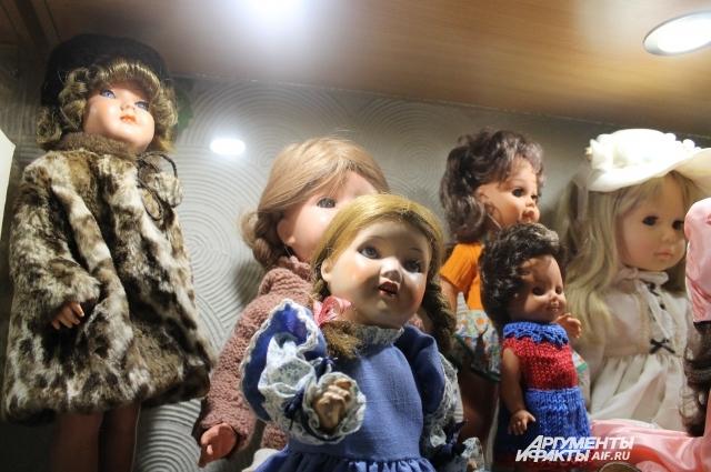 У каждой куклы - свой образ.