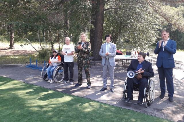 Сергей Скворцов частый гость мероприятий, которые устраивают организации инвалидов в Иркутске.