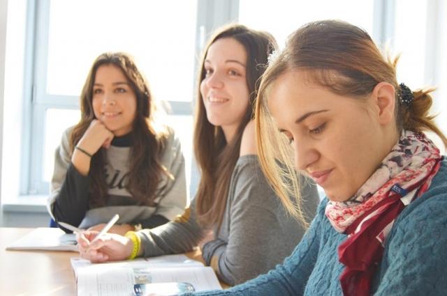В колледже обучается более 40 % иногородних студентов.