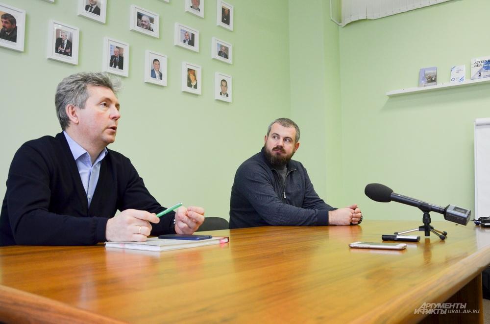Пресс-семинар по итогам технического тура на действующую карту №10 ППЗРО в Новуральске.
