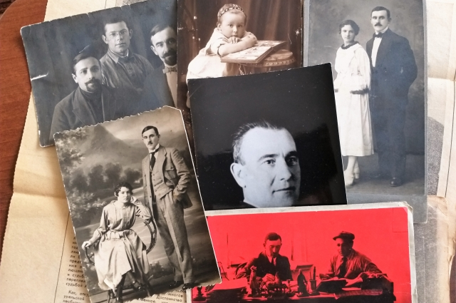 Татьяна Ситникова бережно хранит старинные семейные фотографии, многим из которых уже около 100 лет.