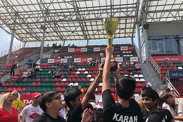Команда из Индии взяла первый приз.