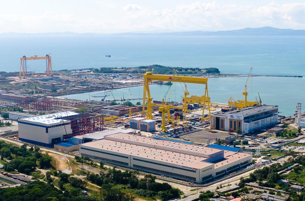 Здесь строят суда для Северного морского пути