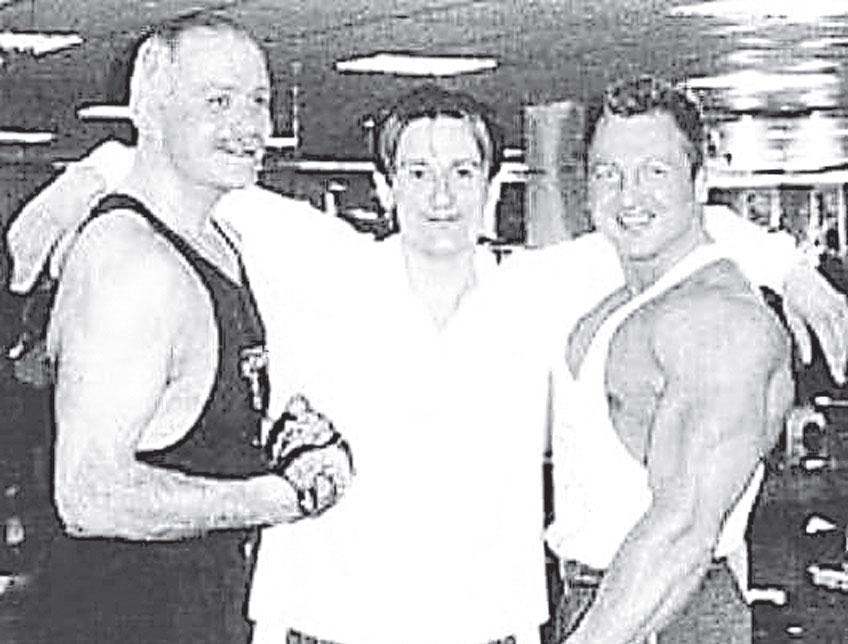 Чемпион по бодибилдингу Юрий Голубев многие годы был тренером Никиты Михалкова, Олега Меньшикова и других знаменитостей.
