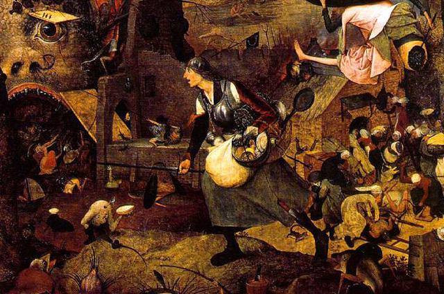 Главный персонаж картины Питера Брейгеля Старшего «Безумная Грета», 1563 г.