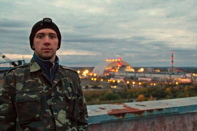 Саркофаг 4-го энергоблока Чернобыльской АЭС сегодня.