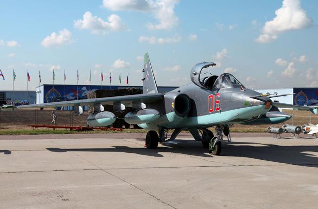 Су-25СМ, 2012 г